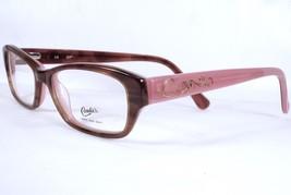 Candies Shawna Brown Pink Girls 47 Eyeglasses Authentic - $36.62