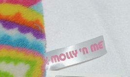 Molly N Me Multi Colored Hearts Pink No Slip Backing Floor Bath Mat image 5