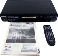 Panasonic Progressive-Scan DVD Player CD CD-Video  MP3 Player - $35.95
