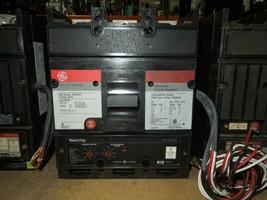 GE TJ4V2605 500A 3p 600VAC Circuit Breaker w/ LI MicroVersaTrip 120V Shunt & Aux - $1,200.00