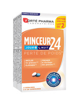 Forte Pharma Minceur 24 Day and Night 2 x 28 Tablets - $66.00