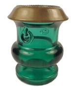 Victorian Grecian Urn Toothpick Holder Teal Gre... - $14.95