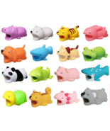 Cute Animal USB Cable Bite Wire Protector Charging Cord Cartoon Biter fo... - $3.99