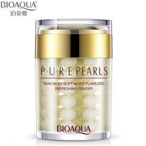 BIOAQUA Brand Face Cream Pure Pearl Essence Hyaluronic Acid Cream Moistu... - $9.99