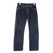 LUCKY BRAND Dungarees Jeans 4 27 Mid-Rise Straight Leg Selvedge Dark Was... - $19.85