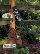 Tole Decorative Painting Pickets & Pastimes Easter Golf Fishin Xmas Book - $13.99