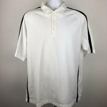 Nike Golf Men's Polo Size L White DF15 - $8.90