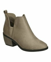 Pierre Dumas Women's Taupe Contrast Victoria Ankle Boot Size 8 NEW IN BOX! - $64.30