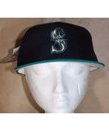 New Era Size 7 1/4 Deadstock Seattle Mariners Pro Model 5950 Fitted Cap ... - $75.99