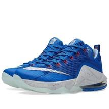 Nike Men's Lebron XII Low Lmtd /Black/Metallic Silver Sneaker Shoes 8125... - £152.70 GBP