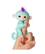 Fingerlings - Interactive Baby Monkey - Zoe (Turquoise with Purple Hair)... - $48.99