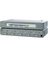 Belkin F1DN104D-5PK OmniView Secure 4-Port DVI-D KVM Switch - $153.44