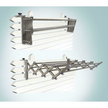 Greenway Indoor/Outdoor Heavy-Duty Expandable Laundry Foldable Drying Rack - $65.18