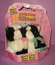 Vintage Tyco Kitty Kitty Kitten Kittens Plush Rattle Purr Cat Tyco Twins... - $200.00
