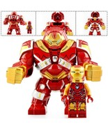 Big Size HulkBuster & Iron Man - Marvel Avengers Engame Minifigure Block  - $6.99