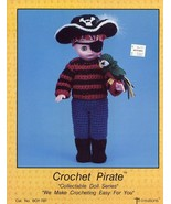 "Pirate 13"" Doll Outfit Td Creations Crochet PATTERN/INSTRUCTION/LEAFLET/NEW - $4.47"
