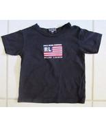 POLO JEANS CO Ralph Lauren TODDLER Cotton Knit Tee Shirt Flag S/S Kids s... - $24.85