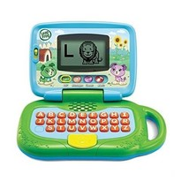 LeapFrog My Own Leaptop, Green laptop educational letters sing along animals - $24.48
