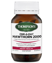 Thompson's One-A-Day Hawthorn 2000mg 60 Capsules - $163.43