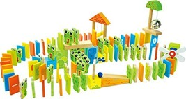 small foot company Wooden Domino - Frog Rally 100Pc Set - $34.02
