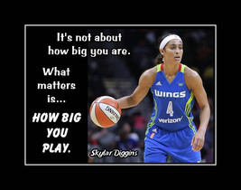 Skylar Diggins Inspirational Basketball Motivation Poster Daughter Wall ... - $19.99+