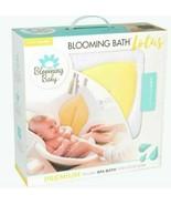 new Booming Bath Plush Lotus 4 Petal Comfort Cushion Yellow 0-6+ Months  - $27.44