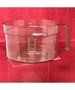 General Electric Food Processor D3FP1B Mixing Bowl VTG Part ONLY - $11.83