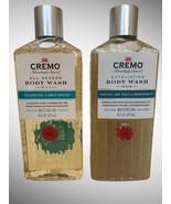 Cremo Body Wash Seagrass  Driftwood & Pacific Sea Salt Driftwood Exfolia... - $24.74