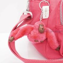 NWT Kipling HB3170 Defea Large Satchel Shoulder Handbag Nylon Vibrant Pi... - $82.95