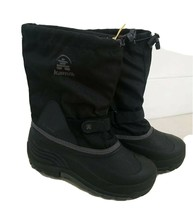 Kamik Boy's Waterbug 5 Insulated Waterproof Boots SC4 Black US: 7 - $49.50