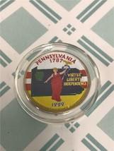 1999 D Pennsylvania Enameled State Quarter *FREE SHIPPING* - $3.92