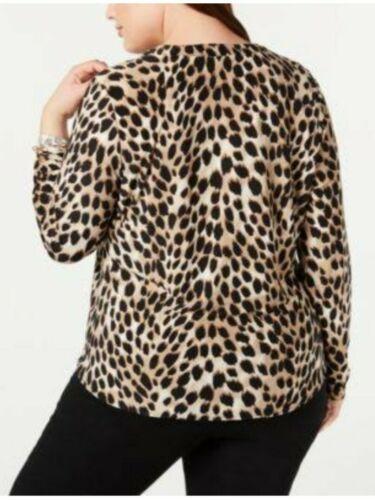 INC International Concepts Blouse Women Plus Size 0X Top NWT  $74.50