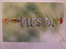 MEXICAN FIESTA FOIL BALLOON DECOR COCO BANNER SPANISH PARTY DECORATIONS - $9.89