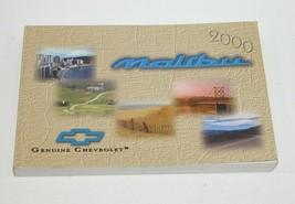 2000 Chevrolet Malibu Factory Original Owners Manual Book Portfolio #34 - $17.77