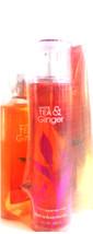 Bath & Body Works White Tea & Ginger Body Mist, Cream & Bath Gel Gift Set of 3 - $27.18