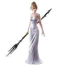 NEW Play Arts Kai Final Fantasy XV Lunafreya Nox Fleuret Action Figu... - $117.39