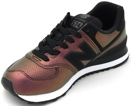 NEW BALANCE WOMAN SNEAKER SHOES CASUAL FREE TIME FAUX LEATHER CODE WL574... - $49.99