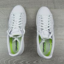 Converse Pro Leather Ox Low Triple White Shoes Size 11 Mens 155319C New image 8