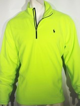 Polo Ralph Lauren half zip micro fleece pullover size large - $61.74