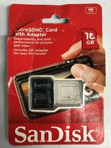SanDisk 16GB MicroSD Adapter - Adapter Only - $6.23