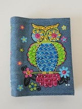 Notepad With Multicolor Sequins Owl Casing - $12.54 CAD