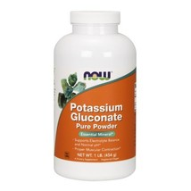 Potassium Gluconate, 1 Lb by Now Foods - $9.74