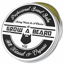 Beard Balm | Leave-in Conditioner & Softener for Men Care | Best Facial Hair & M image 1