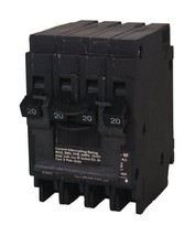 Siemens Q22020CT2 Two 20-Amp Double Pole Circuit Breaker - $34.81