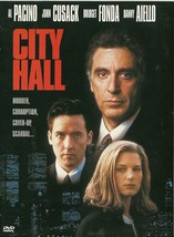 City Hall DVD Al Pacino John Cusack Bridget Fonda - $2.99