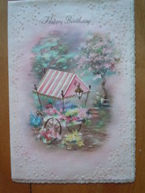 Vintage Happy Birthday Your Secret Pal Greeting Card Coronation Collecti... - $4.99