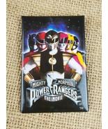 Vintage Mighty Morphin Power Rangers der Film Promo Pin Rücken Knöpfe 1995 - $6.92