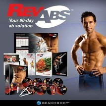 BEACHBODY Rev Abs The Workouts DVD Set 90 Day Ab Solution Workout - NEW - $67.66