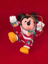 Mickey Disney Grolier Christmas Magic Ornament 104  Minnie  Tangeled in ... - $13.84