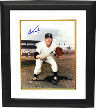 Bob Turley signed New York Yankees 8x10 Photo Custom Framed (catch pose-... - $69.00